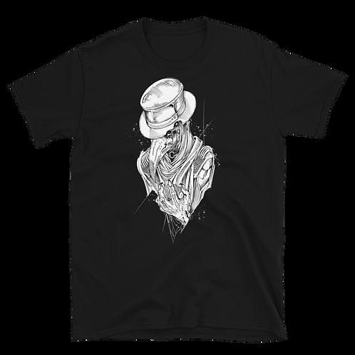 Plague Doctor 2 (white) Short-Sleeve UNISEX T-Shirt