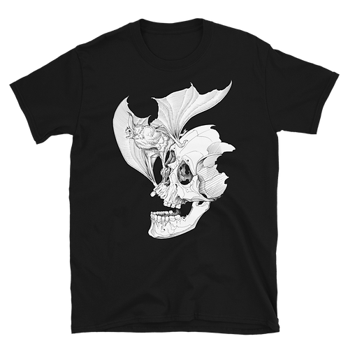 Death Bat Short-Sleeve UNISEX T-Shirt