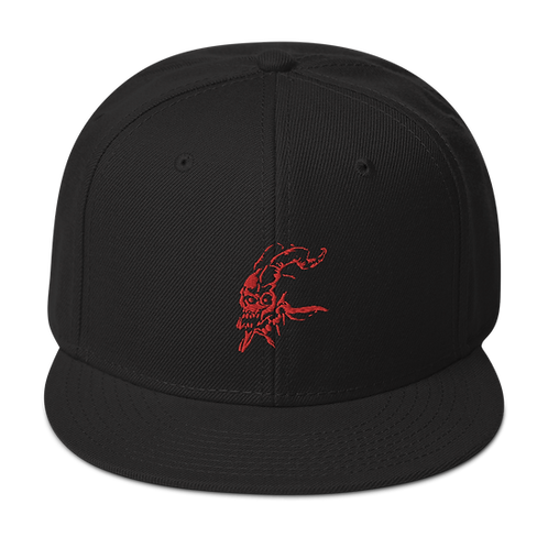 Scura (red) Snapback Hat