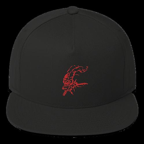 Scura (red) Flat Bill Cap