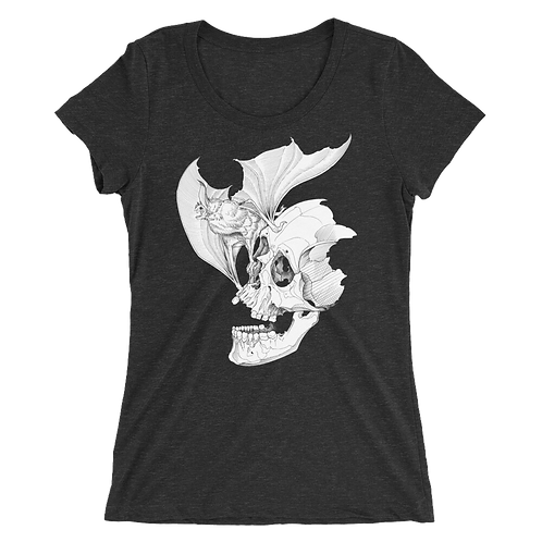 Death Bat WOMEN'S short sleeve t-shirt