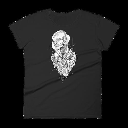 Plague Doctor 2 (white) WOMEN'S short sleeve t-shirt