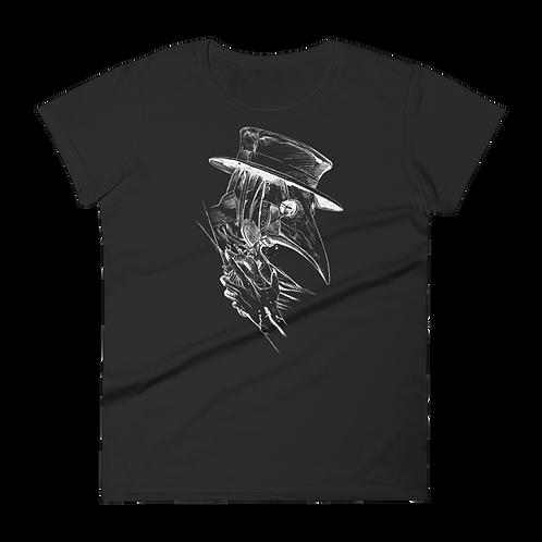 Plague Doctor WOMEN'S short sleeve t-shirt