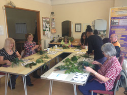 Flower arrangment workshop 2