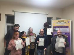 Certificates for Centre users