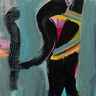 Anne Spencer Solitude 5  30.5cms x30.5