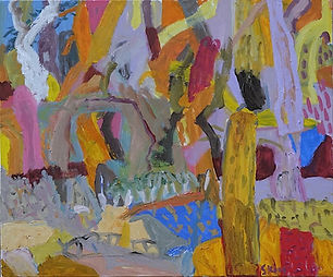 stokes-mangrove-play-oil-on-canvas-76x91