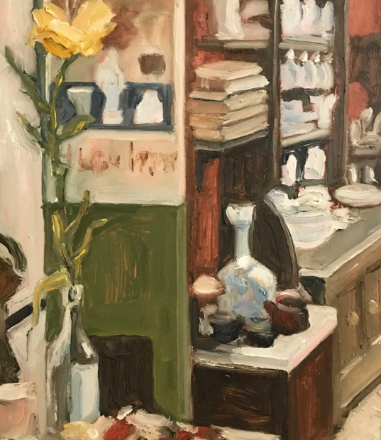 'Dancer on the Table (Olley's dining room)'