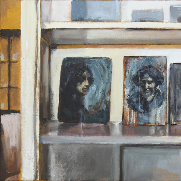 'Doris Boyd on the Bundanon shelf'