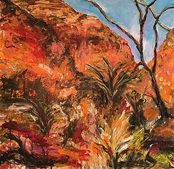 Central Australia acrylic on canvas 76x76
