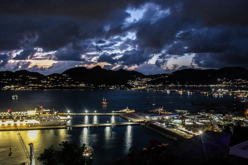 Night scenes of St. Maarten