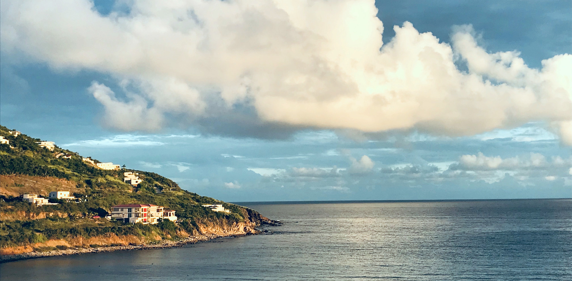 Afternoon view from Villa Amaya