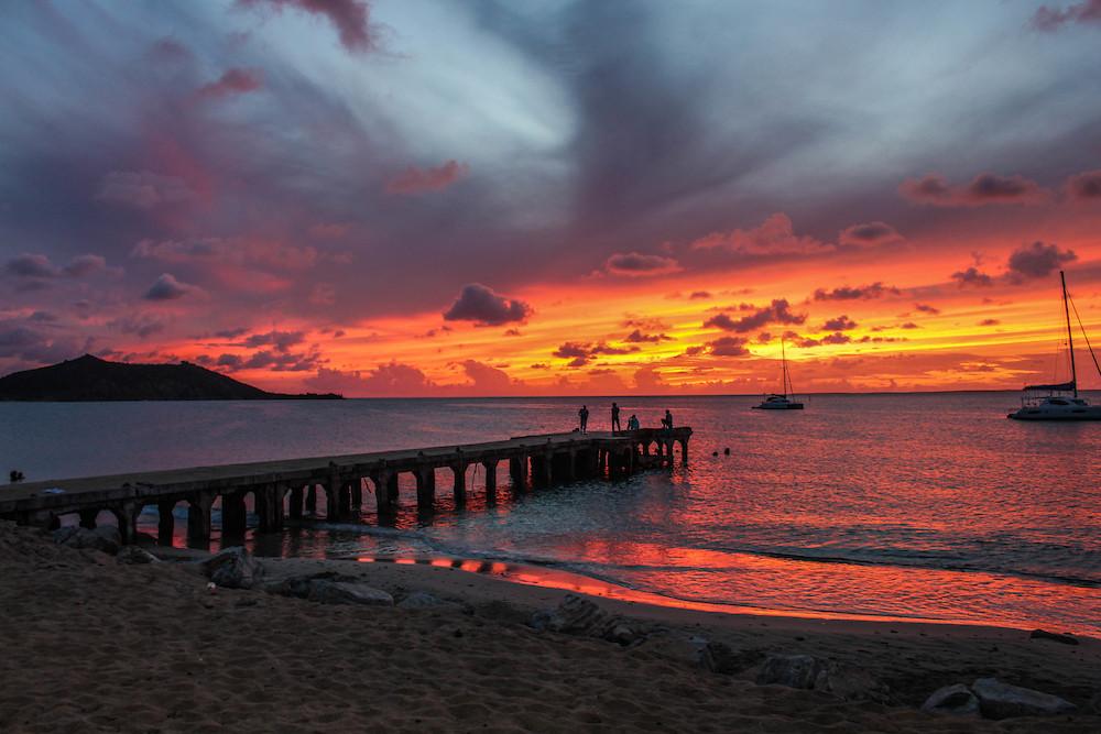 Sunsets in St. Maarten