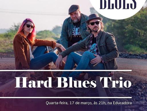 Hard Blues Trio na Radio Educadora FM Bahia
