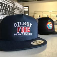 GILROY FIRE DEPARTMENT HATS