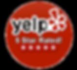 5 Star Rating on Yelp
