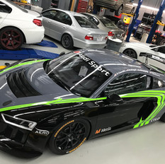 AUDI R8 FULL WRAP SIDE