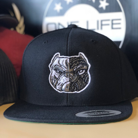 Black and White Bully Hats