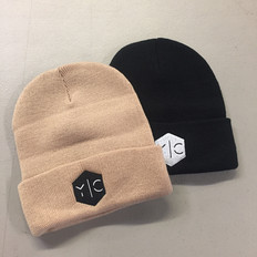 Y|C EMBROIDERED BEANIES