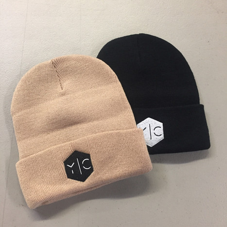 Y C EMBROIDERED BEANIES