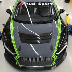 AUDI R8 RACECAR FULL WRAP