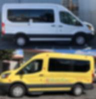 full custom vehcle wrap on van
