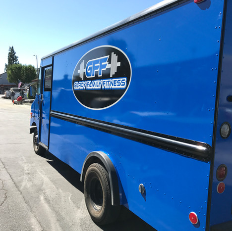 GILROY FAMILY FITNESS TRUCK