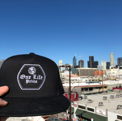 ONE LIFE PRINTS OVER LOS ANGELES