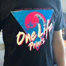 One Life Prints 80s Tees