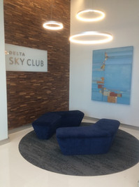 Delta Sky Club, San Franciso, CA