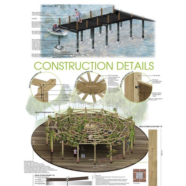CONSTRUCTION DETAILS – JETTY & BANDSTAND