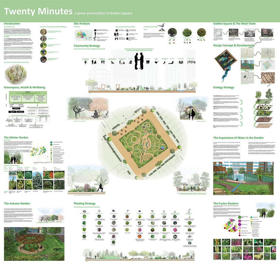 Twenty Minutes:  a green prescription in Golden Square