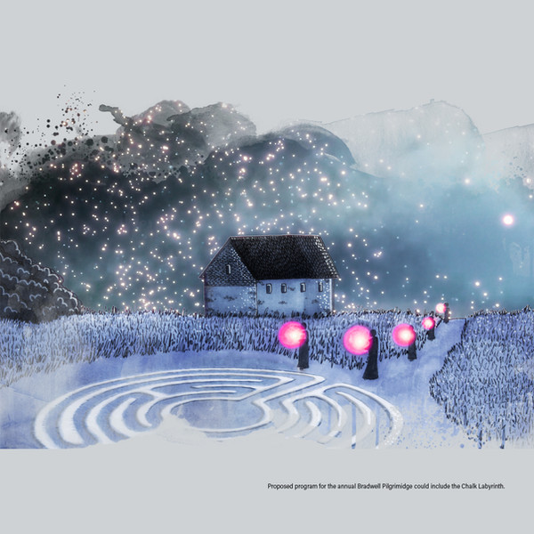 Visualisation 1 – St Peter's Chapel and Labyrinth