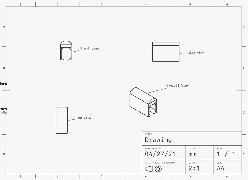 Digital Sketch for Tunnel