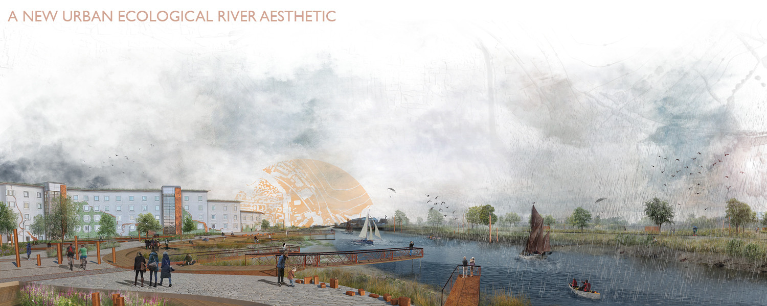 A New Ecological Urban River Aesthetic
