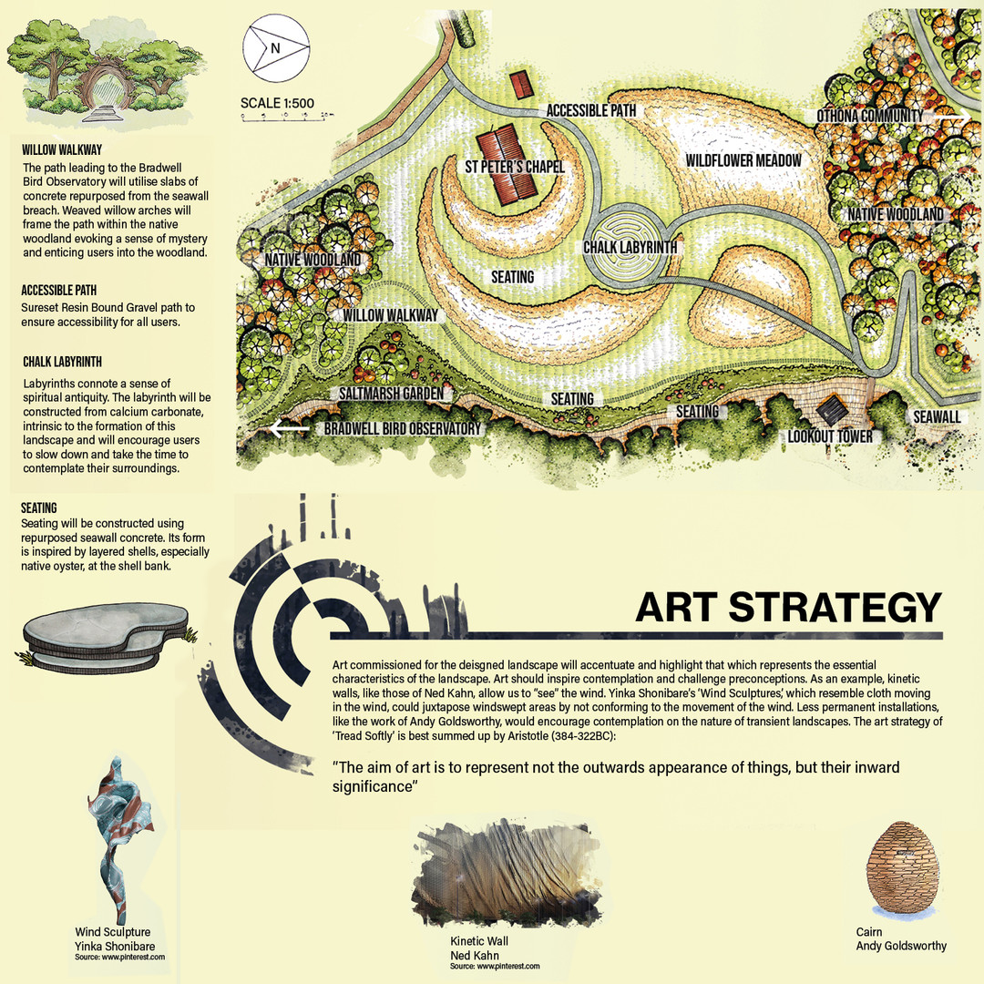 St Peter's continued and Art Strategy