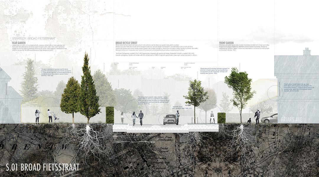 Section 01: Broad Fietsstraat (Cycle Street)