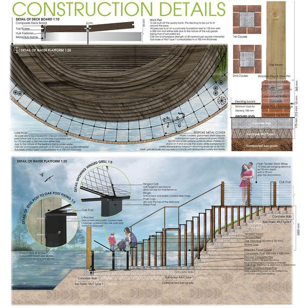 CONSTRUCTION DETAILS – THE WATER PLATFORM