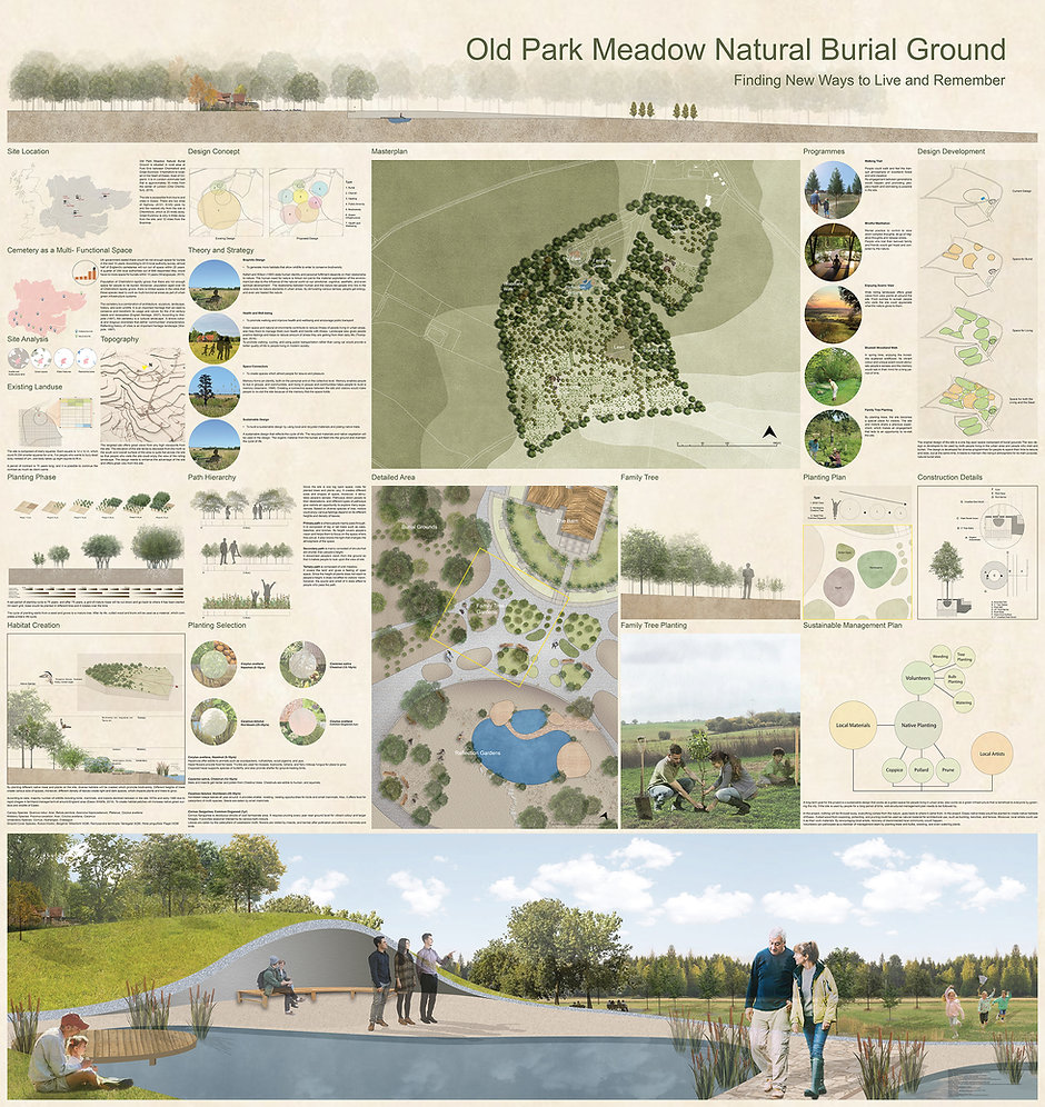 Old Park Meadow Natural Burial Ground  Finding New Ways to Live and Remember