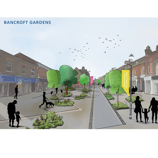 Enlarged Visual of Bancroft Gardens (Detail Area)