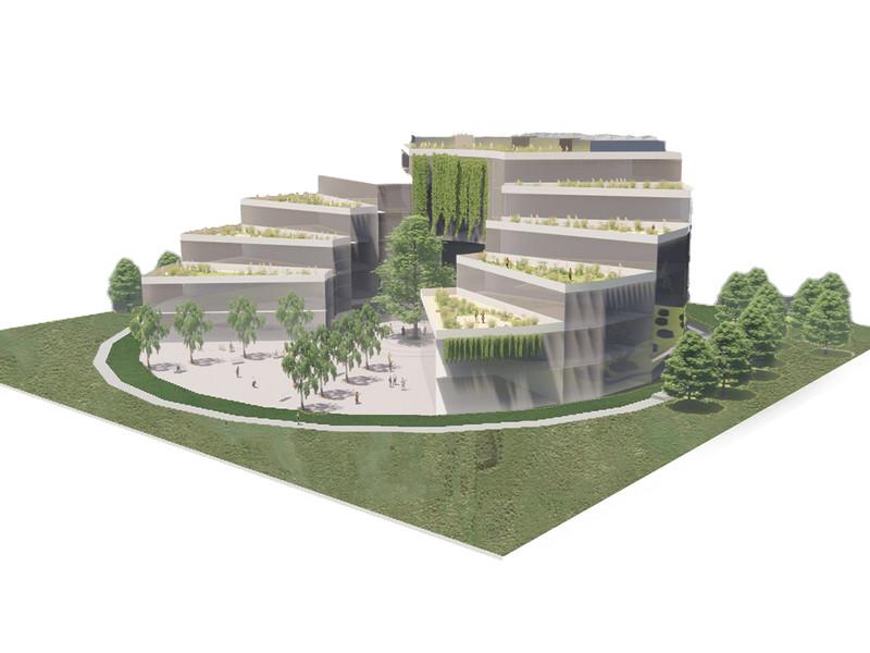 Subservient buildings