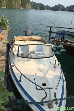 THE LOCAL speedboat