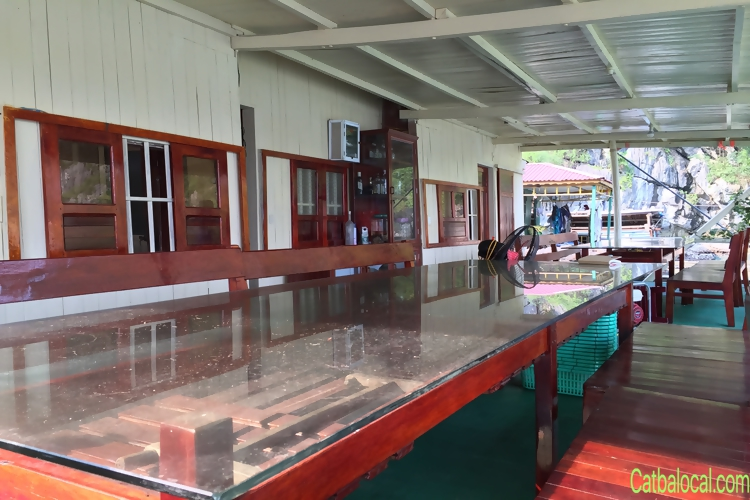 THE LOCAL floating restaurant