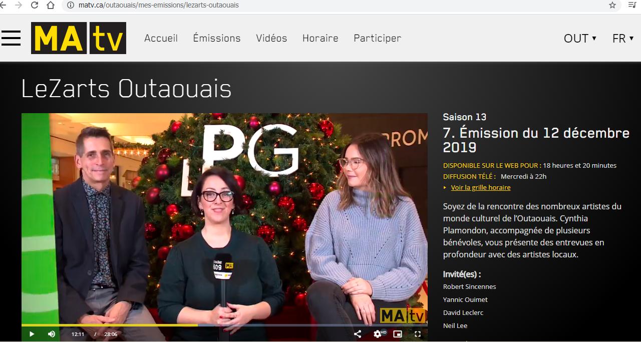 LeZarts Outaouais Coup coeur 2019