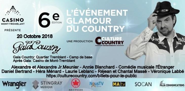 L'événement Glamour du Country