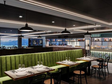 Há dois novos restaurantes a bordo do MSC Virtuosa