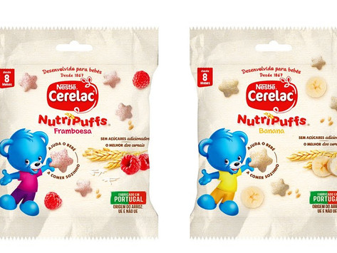 Mães e pais: há um novo snack pensado para as necessidades nutricionais do bebé