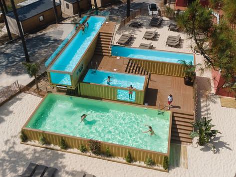 Abriu a mais alta piscina da Europa feita de contentores (e fica em Portugal)