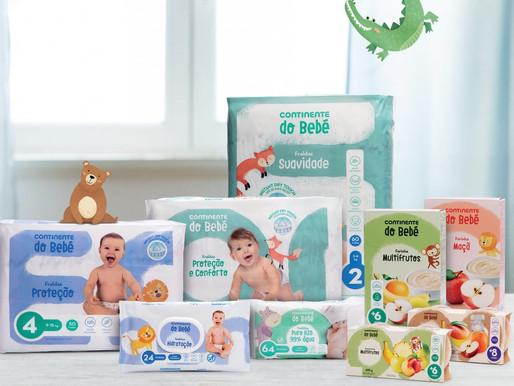 Alerta, pais: o Continente tem uma nova marca para bebés