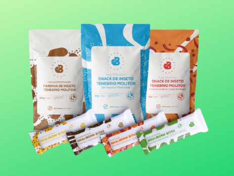 Já estão à venda em Portugal os primeiros produtos com insetos comestíveis. Conheça-os